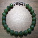 British Columbia Jade Natural Stone Bracelet Made in U.S.A.