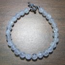 Crackle Quartz Natural Stone Bracelet Made in the U.S.A.