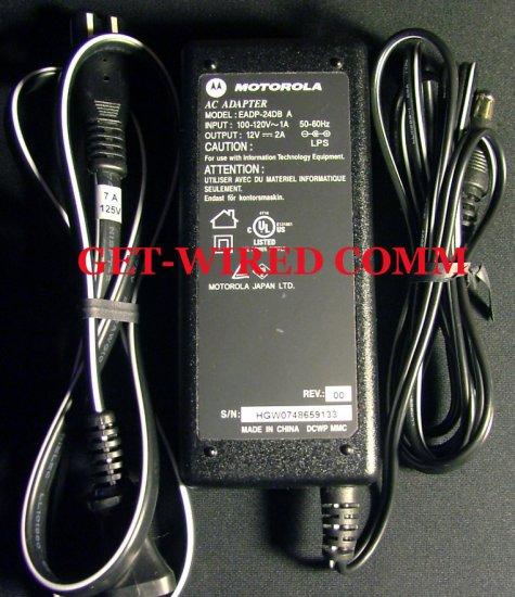 Motorola ~ Model: EADP-24DB A ~ 12V 2A ~ AC Adapter / Power Supply