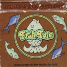 Retro Colorful Fish Tale Restaraunt California Restaurant Hippy Cool Matchbook
