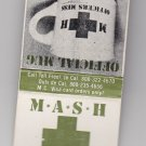 Retro Mash 4077th Promo Promotional Official Product Matchbook - 003