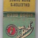 Vintage Milwaukee's Best Beer A. Gettelman Brewing Co. Barn Dance WI Matchbook