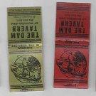 Vintage Retro Lot variety Fishing Fisherman The Dam Tavern Muskego Dam Matchbook