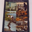 1970 70 Ontario Canada Official Road Map Transportation Highway