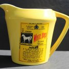 Vintage Yellow White Horse Scotch Whisky 3960 Ceramic Pitcher Carafe Jug
