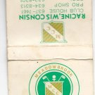 Vtg Meadowbrook Country Club Racine Wisconsin Matchbook Match Book Cover