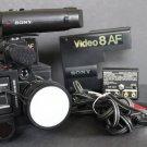 Sony CCD V8AF CCD-V8AF Video 8 Video Recorder Camera w Original Case VG+ Bundle