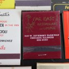 Lot 25 Chicago Chicagoland IL Chi-Town Cook County Matchbooks Matches Covers #1