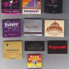 Las Vegas Nevada Harrahs Stardust Casino Mixed Matchbook Matches Cover 10 Lot #1