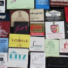 Lot 100 Chicago Chicagoland IL Chi-Town Cook County Matchbooks Matches Covers #4