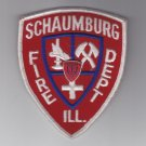 Schaumburg Illinois Cook County Chicagoland Fire Department Patch Badge & Pin