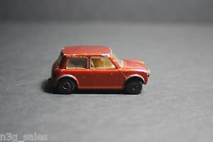 Vintage Matchbox Lesney 1970 70 Racing Mini Superfast Orange Rust No 29 Die Cast