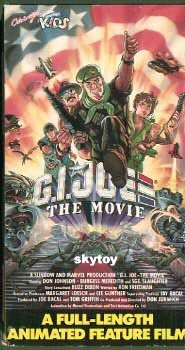 G.I. JOE the movie VHS