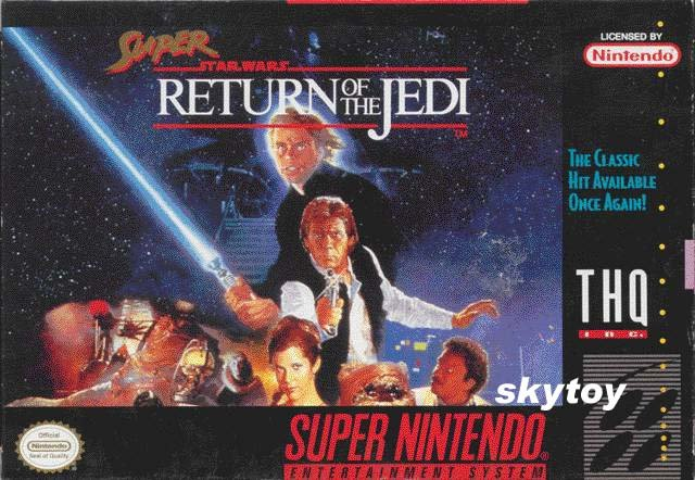 star wars return of the jedi snes game
