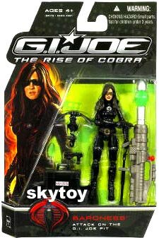 g.i. joe rise of cobra Baroness mosc