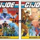 G.I. Joe: A Real American Hero - Series 2, Seasons 1 and 2 new free shipping
