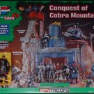 G.I. Joe conquest of cobra mountain playset misb free usa shipping