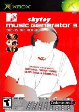MTV Music Generator 3: This Is the Remix xbox game