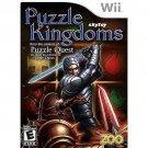 puzzle kingdoms wii game