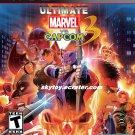 ultimate marvel vs capcom 3 ps3