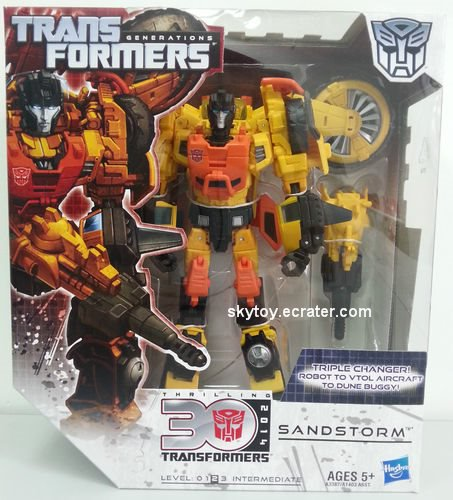 transformers generations sandstorm misb - sold out