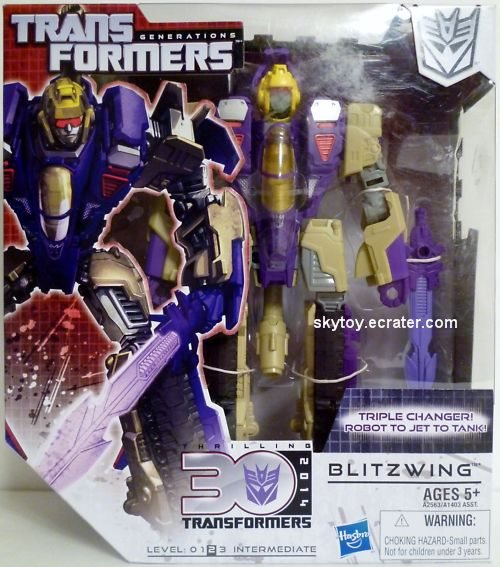 transformers generations blitzwing misb