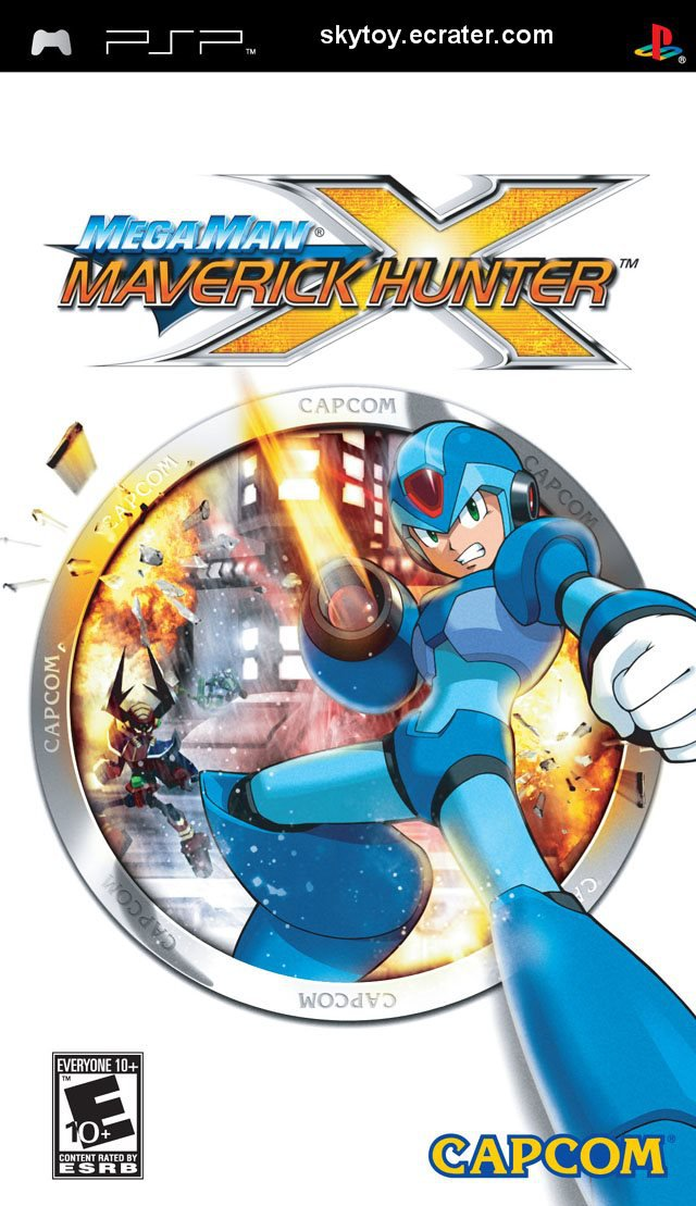 megaman x maverick hunter psp