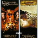 dungeons and dragons dvd double feature new