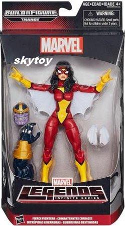 spiderwoman marvel legends misb