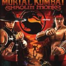 mortal kombat shaolin monks xbox game