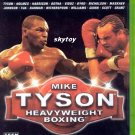 Mike Tyson heavyweight boxing xbox game
