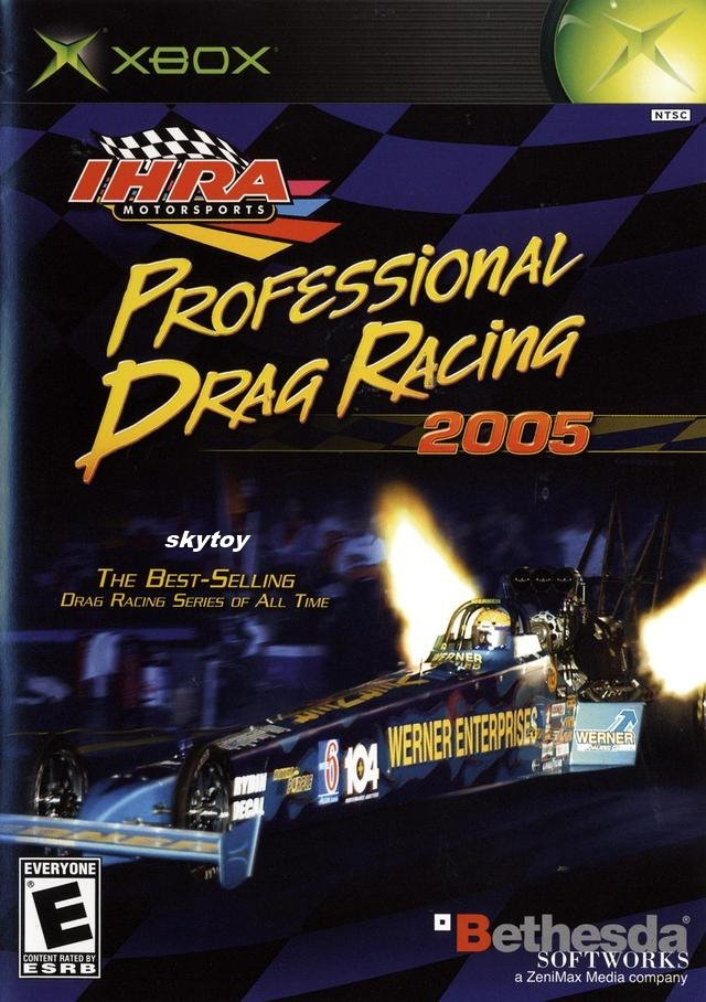 IHRA professional drag racing 2005 xbox game