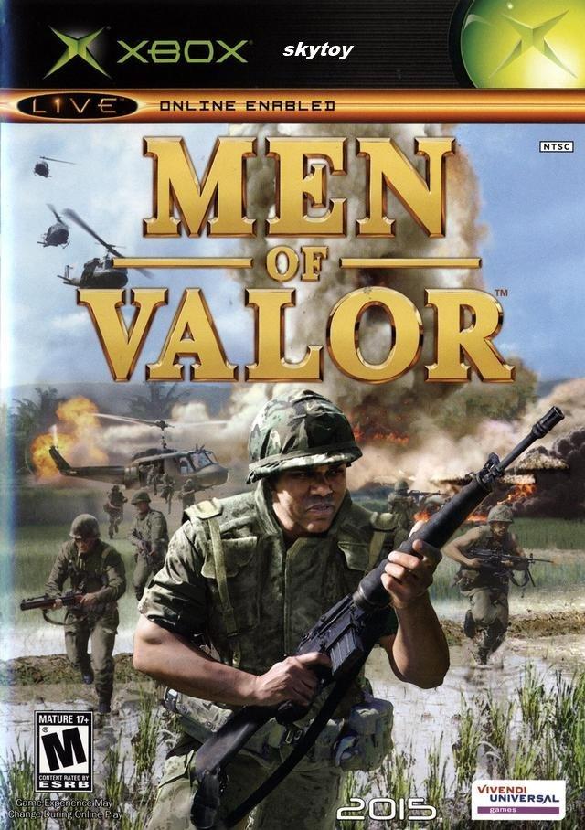 men of valor xbox game
