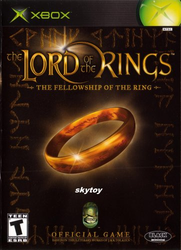 lord of the rings fellowship of the rings xbox game