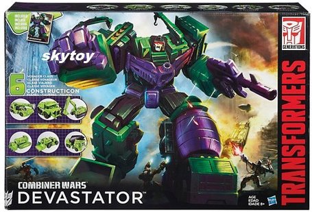Devastator Transformers Generations Combiner Wars misb