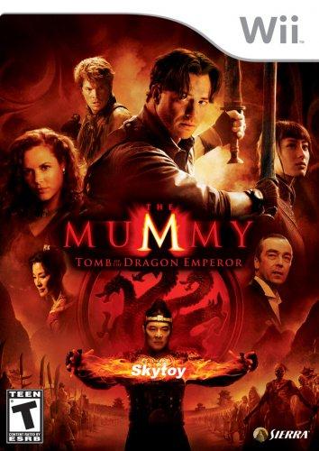 mummy wii game