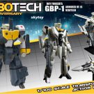 Armored Veritech GBP-1 Robotech 30th Anniversary Roy Fokker 1/100 Scale Transformable VF-1S