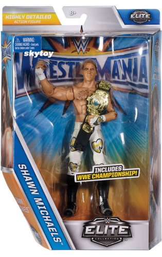 WWE WrestleMania 33 Elite Shawn Michaels