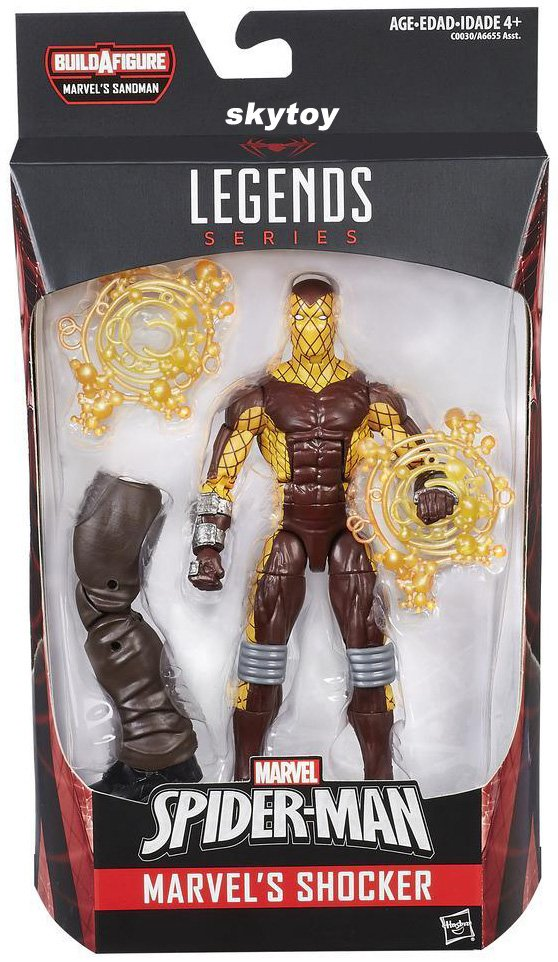 Marvel Legends Shocker Spiderman figure