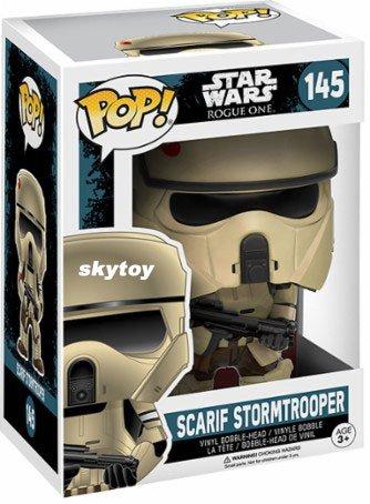 Funko - POP! Star Wars Rogue One: Scarif Stormtrooper