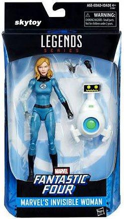 Marvel Legends Fantastic 4 Invisible Woman Sue Storm