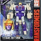Transformers Generations Voyager Titans Return Blitzwing and Hazard