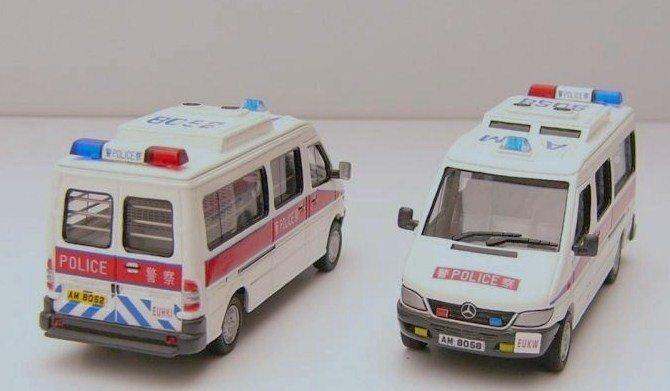 Hong Kong Police Emergency Unit van