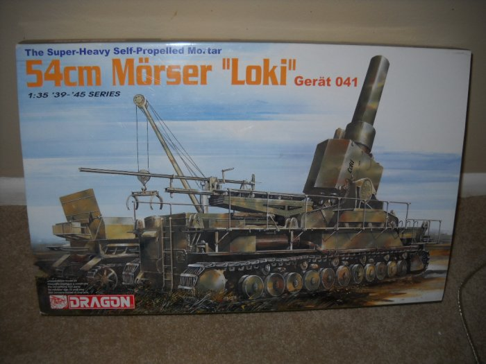 MORSER LOKI, by DRAGON, in 1:35 Scale