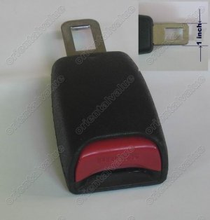 """NEW 5""""Seat Belt Extender Extension For 1"""" Wide Buckle  free ship 7-10 DAYS ARRIVE USA"""