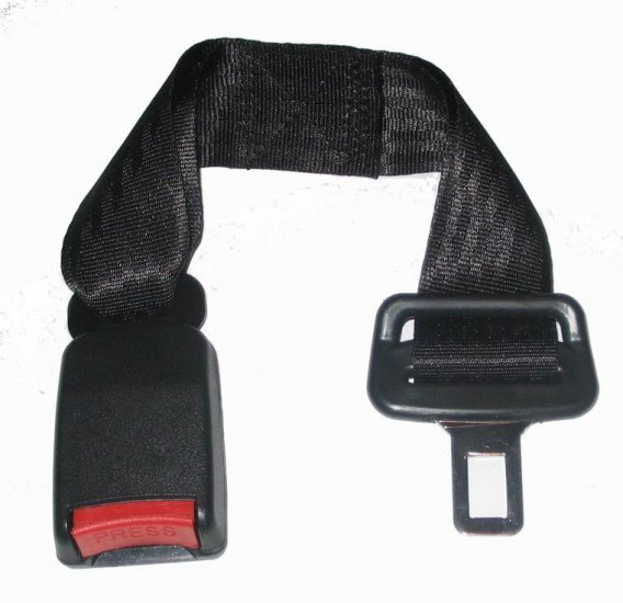 """New 360mm ( 14"""")Seat Belt Extension Extender 7/8inch buckle free ship"""