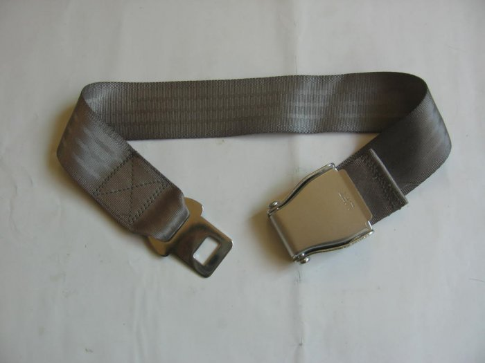 Airplane Airline Seat Belt Extension Extender travel tool In Gray free ship