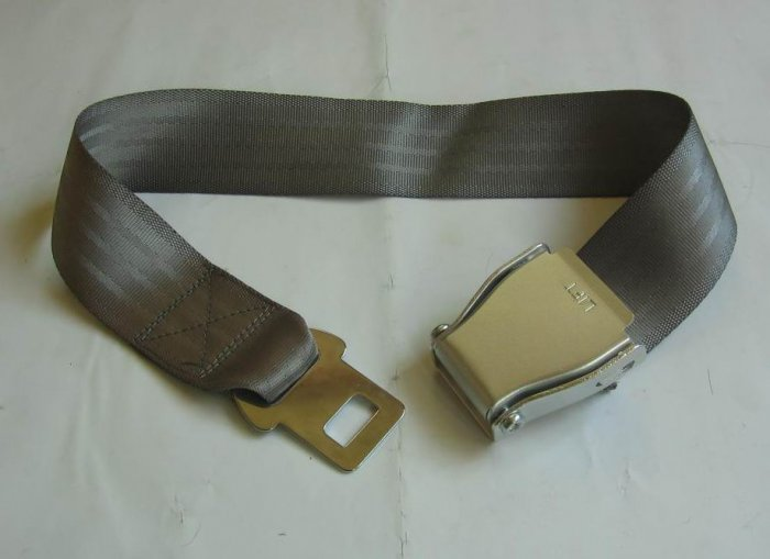 Airplane Airline Seat Belt Extension Extender travel accessories In Gray free ship