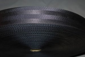"2"" Seat Belt Webbing BLACK 100ft roll 5 BAR FREE SHIP FROM CHINA"