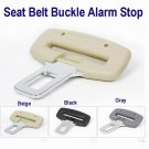 "Seat Belt Buckle Alarm Stop for 7/8"" Buckle BLACK COLOR  FREE SHIP7-10days arrive USA"